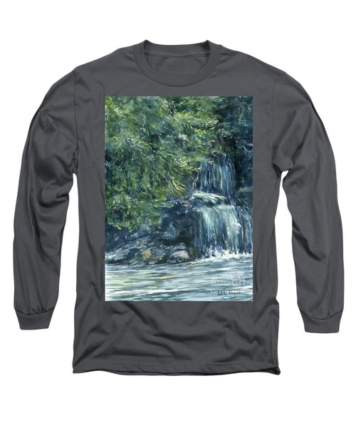 Oregon Waterfall Long Sleeve T-Shirt