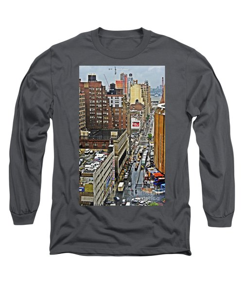 Long Sleeve T-Shirt featuring the photograph Park N Lock by Lilliana Mendez