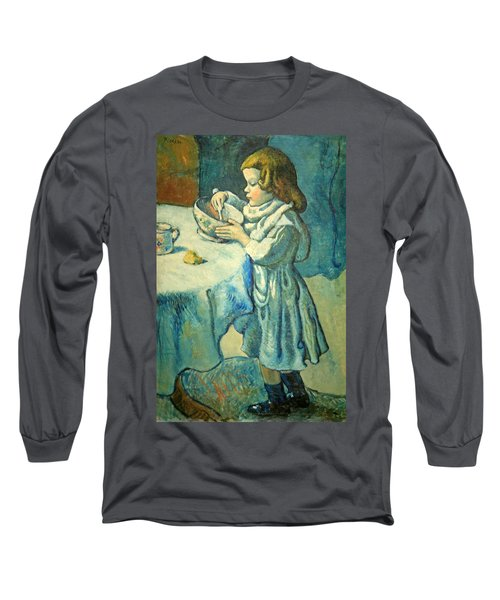 Picasso's Le Gourmet Long Sleeve T-Shirt