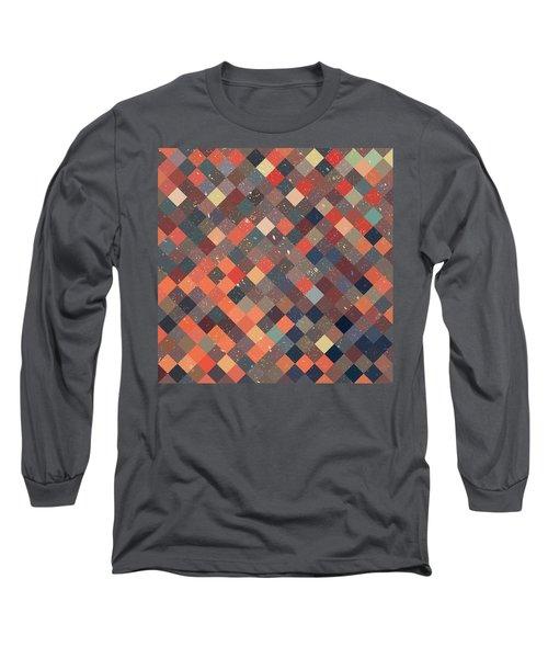 Pixel Art Long Sleeve T-Shirt