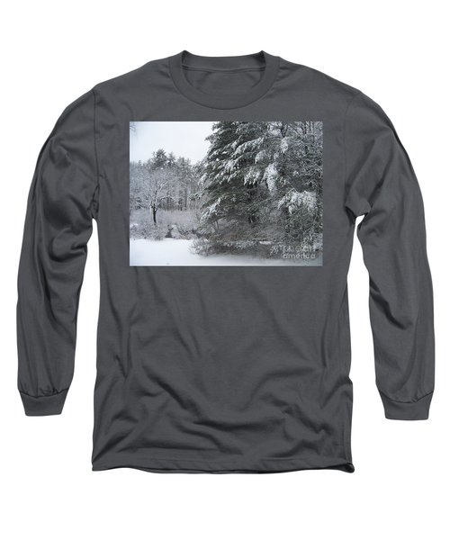 Powdered Sugar Long Sleeve T-Shirt by Eunice Miller