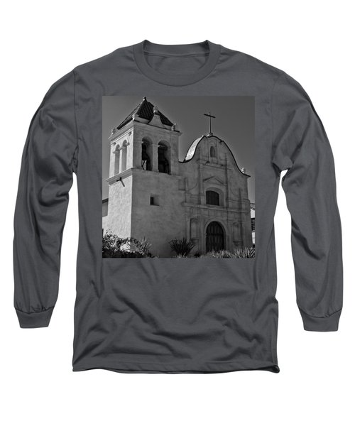 San Carlos Cathedral Long Sleeve T-Shirt by Ron White