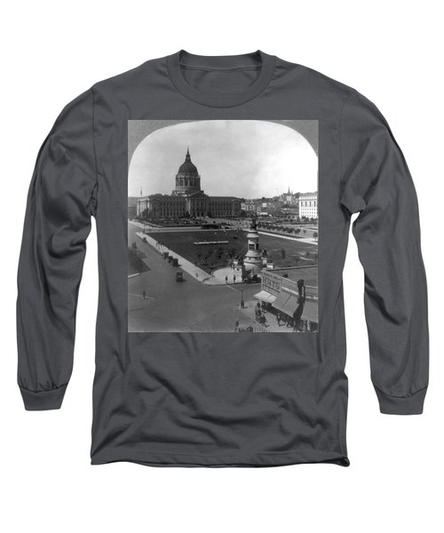 San Francisco City Hall Long Sleeve T-Shirt by Granger