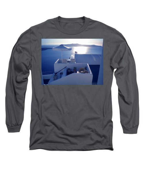 Santorini Island Greece Long Sleeve T-Shirt