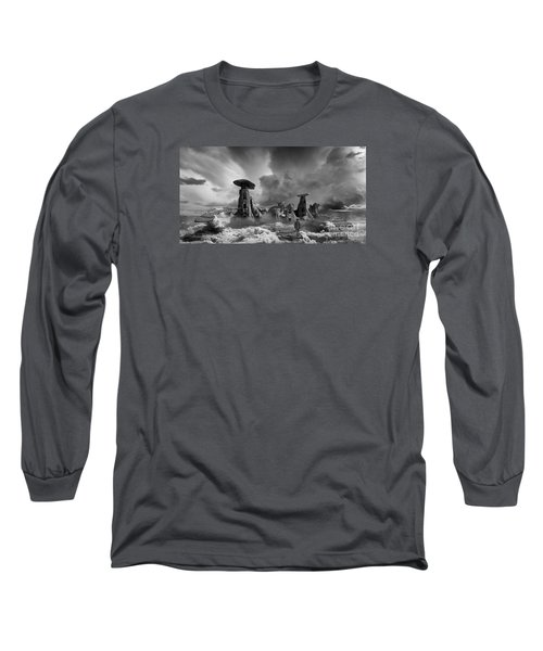 Sky City Casino Long Sleeve T-Shirt by Keith Kapple