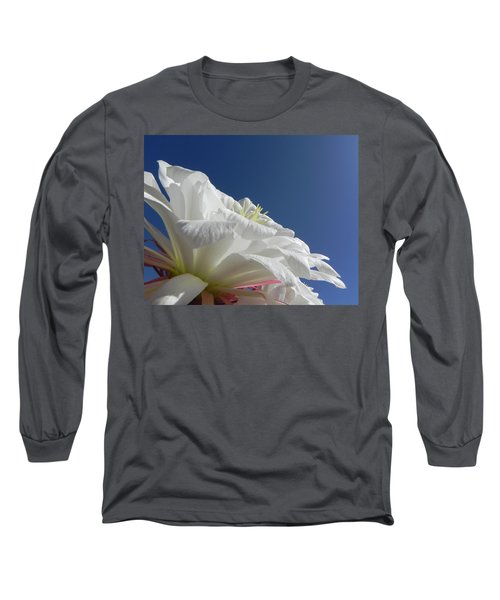 Long Sleeve T-Shirt featuring the photograph Striking Contrast by Deb Halloran