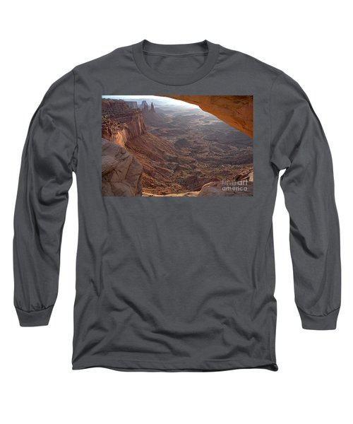 Sunrise Mesa Arch Canyonlands National Park Long Sleeve T-Shirt