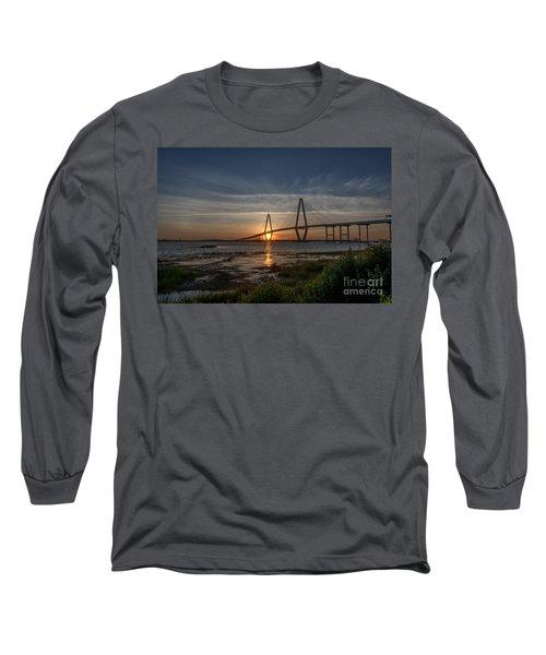 Sunset Over The Bridge Long Sleeve T-Shirt