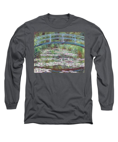The Japanese Footbridge Long Sleeve T-Shirt