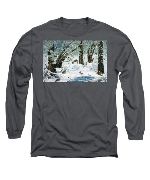 They Said It Wouldn't Snow Long Sleeve T-Shirt