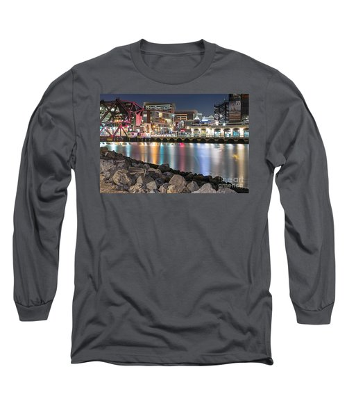 Long Sleeve T-Shirt featuring the photograph Third Street Bridge by Kate Brown