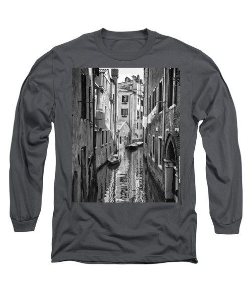 Venetian Alleyway Long Sleeve T-Shirt by William Beuther