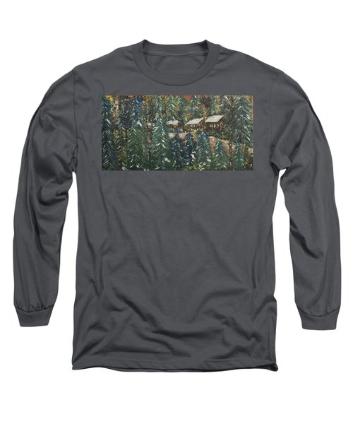 Winter Has Come To Door County. Long Sleeve T-Shirt by Andrew J Andropolis