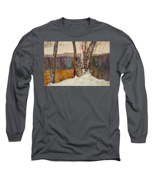 Winter River Long Sleeve T-Shirt