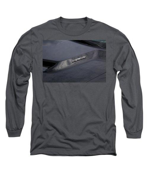 2011 Dodge Challenger Rt Black Long Sleeve T-Shirt