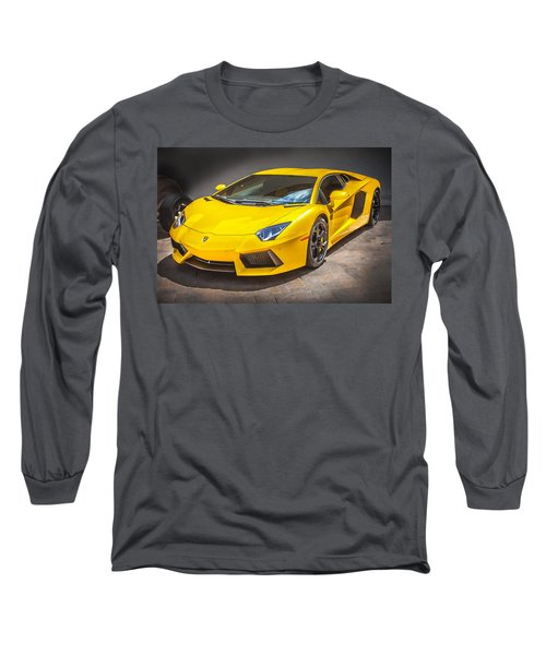 2013 Lamborghini Adventador Lp 700 4 Long Sleeve T-Shirt