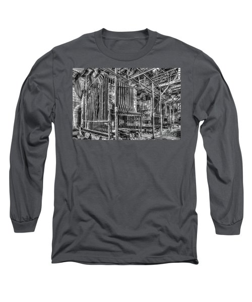 Abandoned Steam Plant Long Sleeve T-Shirt