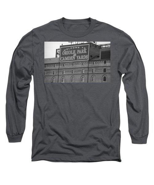 Baltimore Orioles Park At Camden Yards Long Sleeve T-Shirt