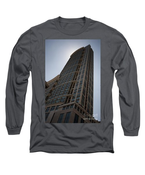 Long Sleeve T-Shirt featuring the photograph City Architecture by Miguel Winterpacht