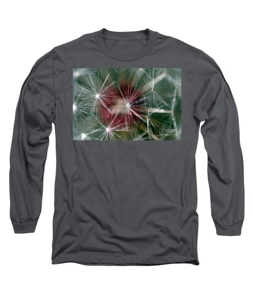 Long Sleeve T-Shirt featuring the photograph Dandelion Seed Head by Henrik Lehnerer