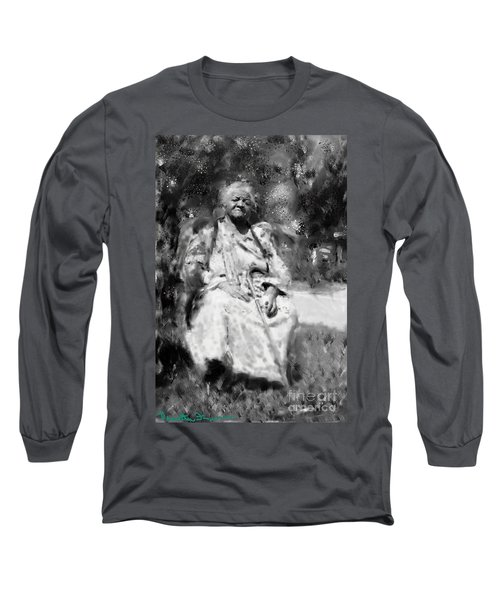 Former Slave Woman Long Sleeve T-Shirt