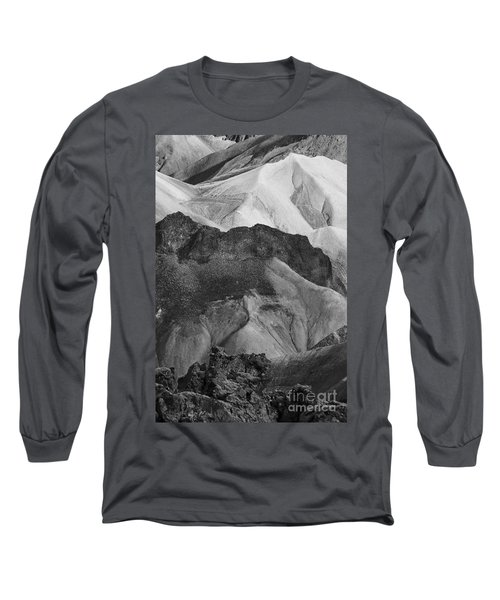 Long Sleeve T-Shirt featuring the photograph Landmannalaugar Iceland 6 by Rudi Prott