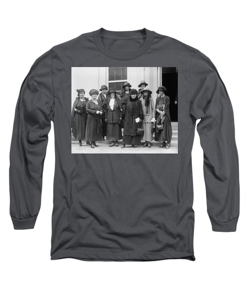 League Of Women Voters Long Sleeve T-Shirt by Granger