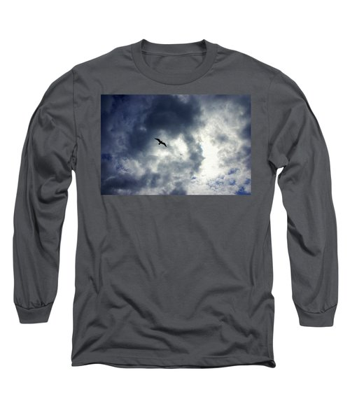 Long Sleeve T-Shirt featuring the photograph Storm Flyer by Marilyn Wilson
