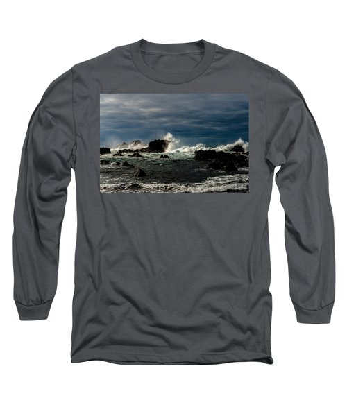 Stormy Seas And Skies  Long Sleeve T-Shirt