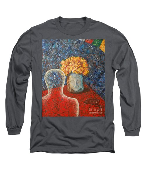 Tibetan Prayers Long Sleeve T-Shirt