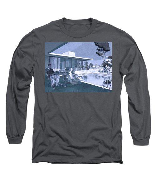 Palm Springs Sunday Long Sleeve T-Shirt