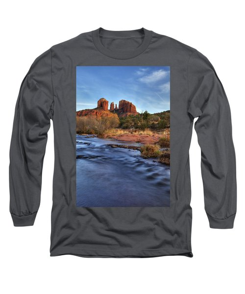 Cathedral Rocks In Sedona Long Sleeve T-Shirt