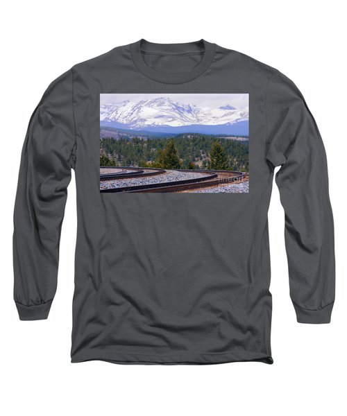 Freight On The Divide Long Sleeve T-Shirt