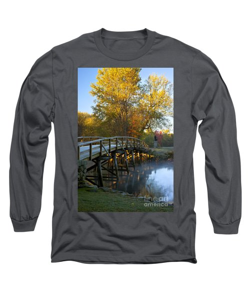 Old North Bridge Concord Long Sleeve T-Shirt