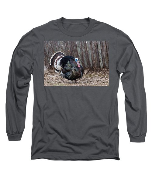 Strutting Turkey Long Sleeve T-Shirt