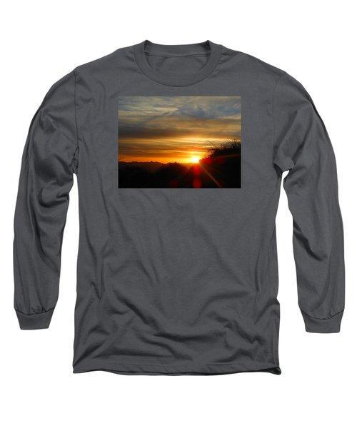 Sunset In Golden Valley Long Sleeve T-Shirt