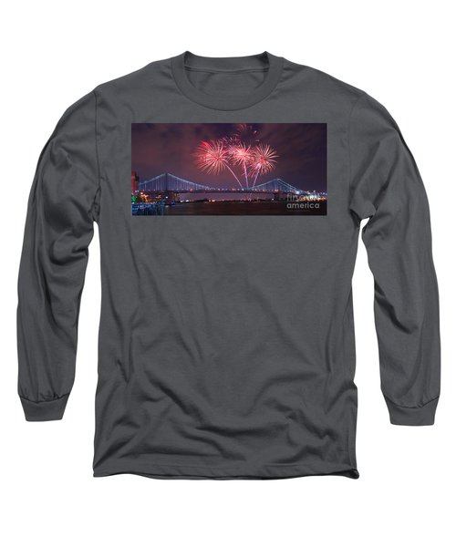 4 Th Of July Firework Long Sleeve T-Shirt