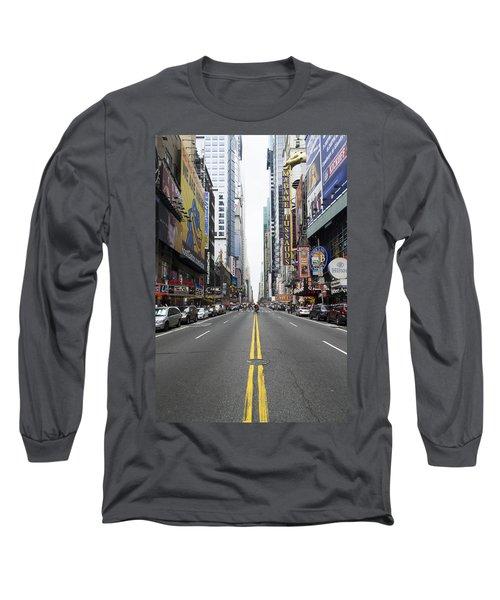 42nd Street - New York Long Sleeve T-Shirt