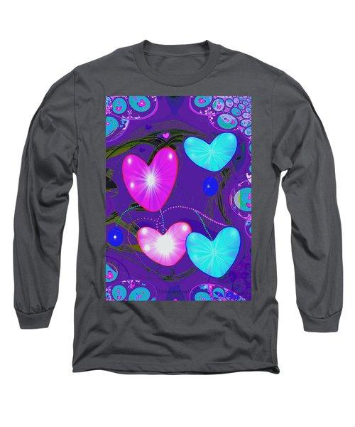 472 -  Valentine Hearts  ... Long Sleeve T-Shirt