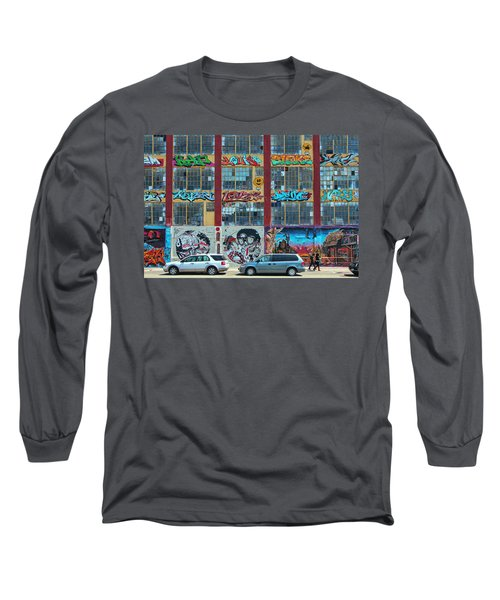 5 Pointz Graffiti Art 10 Long Sleeve T-Shirt
