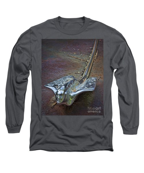 50s Cadillac Hood Ornament #2 Long Sleeve T-Shirt
