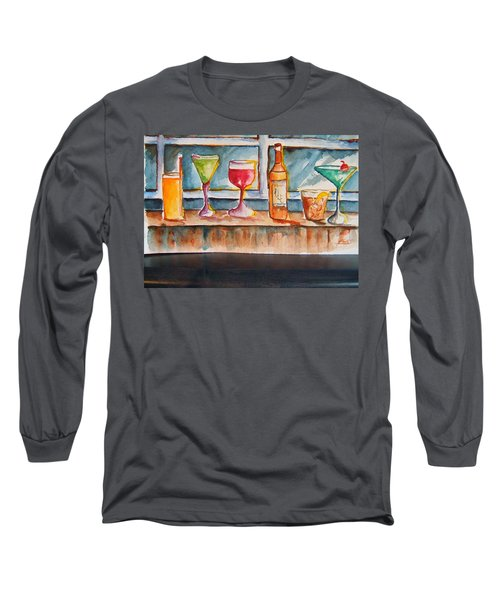5pm Somewhere Long Sleeve T-Shirt