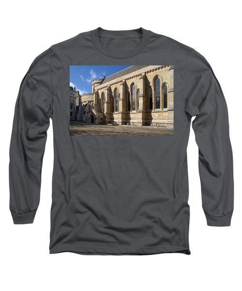 Knights Templar Temple In London Long Sleeve T-Shirt