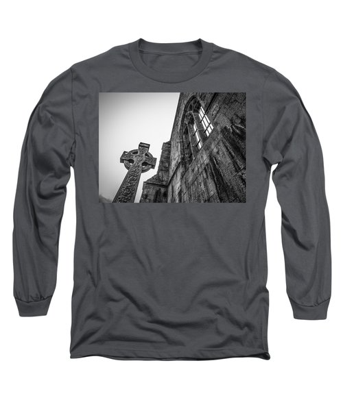 700 Years Of Irish History At Quin Abbey Long Sleeve T-Shirt