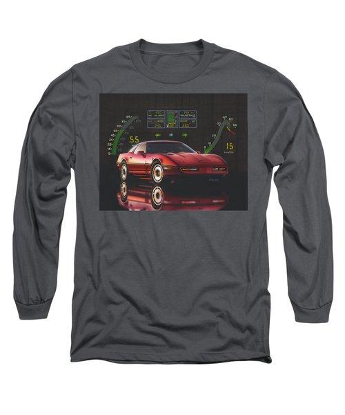 84 Corvette Long Sleeve T-Shirt