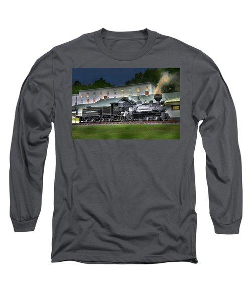 Cass Scenic Railroad Long Sleeve T-Shirt