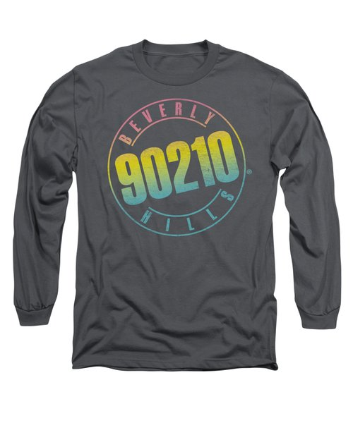90210 - Color Blend Logo Long Sleeve T-Shirt