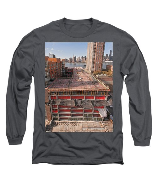 9th Floor Forms Long Sleeve T-Shirt by Steve Sahm