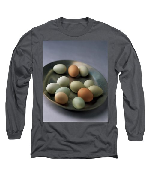 A Bowl Of Eggs Long Sleeve T-Shirt