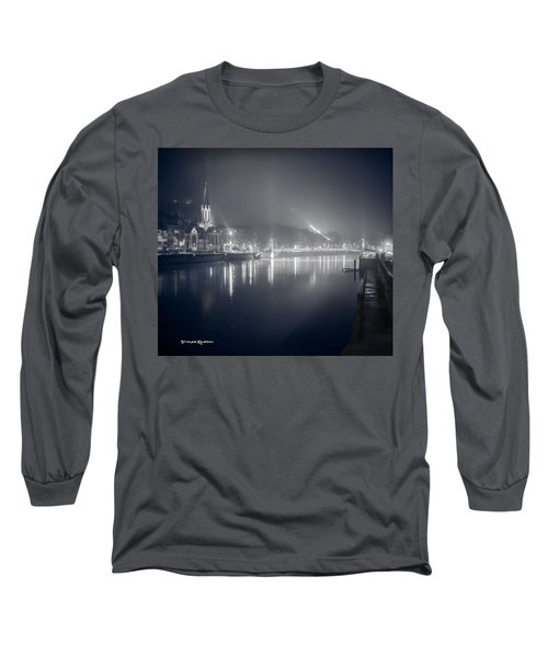 Long Sleeve T-Shirt featuring the photograph A Cathedral In The Mist II by Stwayne Keubrick